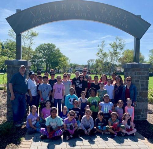 Planting Day 2019 at Veterans' Park